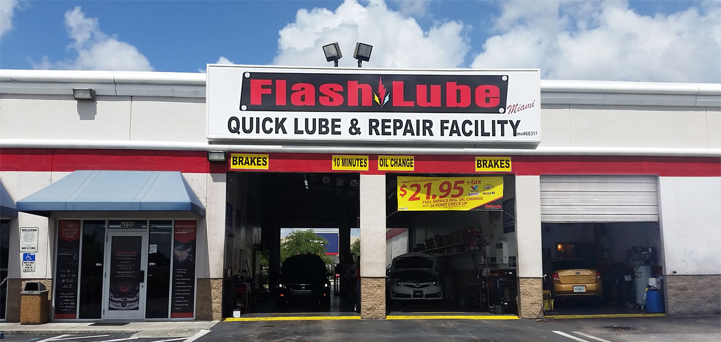 Flash lube coupons
